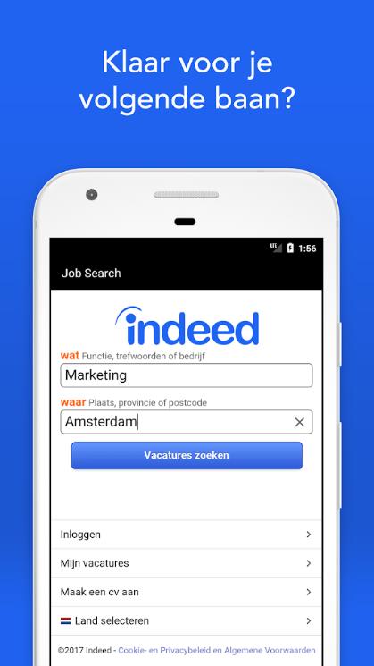 indeed app review ➤ de meeste vacatures in één app