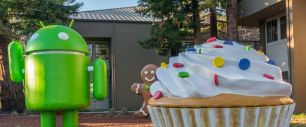 Android donut cupcake froyo