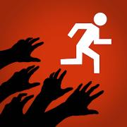 Zombies, run app logo